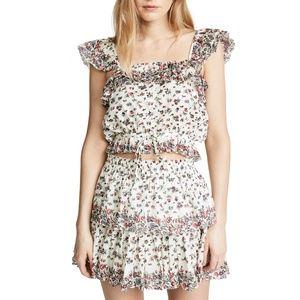 LOVESHACKFANCY Mia Ditsy Floral Top & Ruffle Skirt